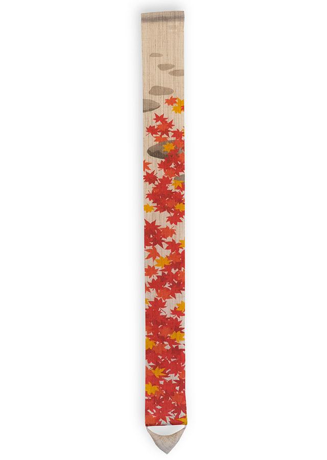 数量限定細タペストリー100cm「紅葉狩り」