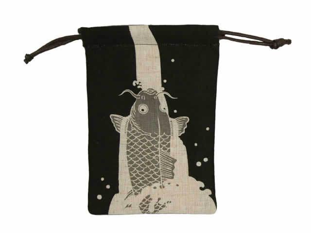 ココチヤ ミニ巾着「鯉」