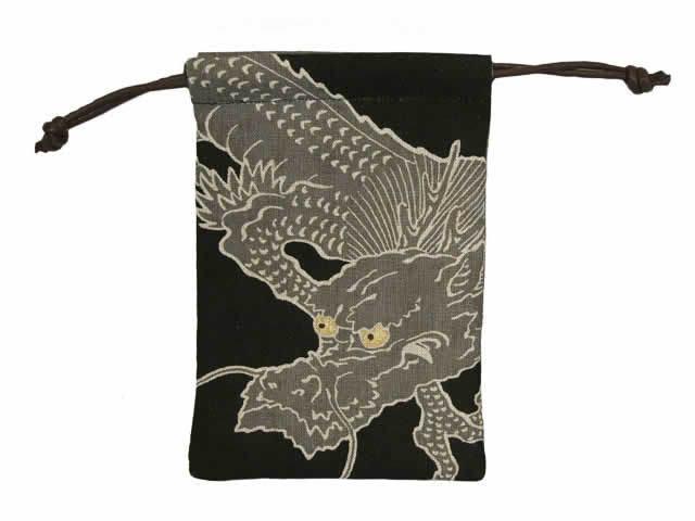 ココチヤ ミニ巾着「龍」
