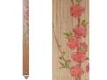 細タペストリー「桃の花」