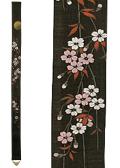 細タペストリー「夜桜」