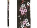 [洛柿庵]細タペストリー「夜桜」