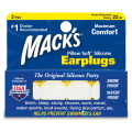 Mack's Soft Silicone Earplugs 2ペア