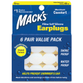 Mack's Soft Silicone Earplugs 6ペア