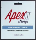 Apexストリングス Traditional CRYOS Electric String  NTC0942