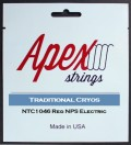 【特価】Apexストリングス Traditional CRYOS Electric String  NTC1046