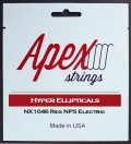 Apexストリングス Hyper-Ellipticals Electric String  NX1046