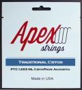 【特価】Apexストリングス TraditionalCRYOS Acoustic String  PTC1047