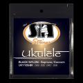 SITストリングス ブラックナイロン ウクレレ弦 UK110S-BK