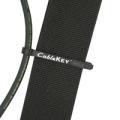 Maxonix CableKeyギターストラップケーブルマネージャー MX-CK-BLK-CS01