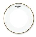 【1プライ】AQUARIAN Drumhead Power-Thin Clear w/Dual Power-Thin Dots