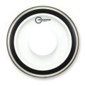 【1プライ】AQUARIAN Drumhead Studio-X Clear w/Power Dot
