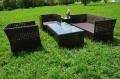 ガーデンファニチャー ラタン調 テーブル サイドテーブル ソファ  5点セット set367【送料無料】