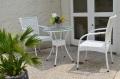ガーデンファニチャー ラタン調 テーブル チェア 3点セット set376【送料無料】