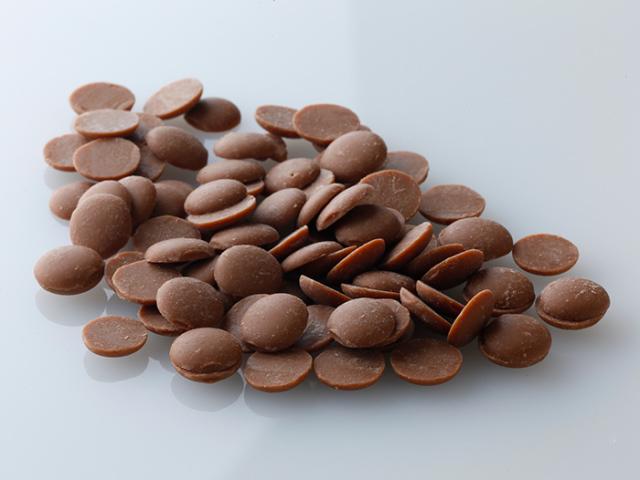 カカオ38% クーベルチュール ミルクチョコレート グロミッツ チップタイプ