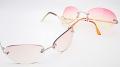 【紫外線対策】 大きめレンズのレディースサングラス No.4184 カラーはピンクとマロンの2色