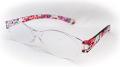 携帯老眼鏡 『見えるんデス』 P-028 スライド式ソフトケース付き