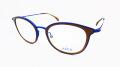 JISCO(ジスコ) 「PERNILLA」 カラー:ブラウン/ブルー  51□20-145  スペイン生まれのメガネフレーム 【送料無料】