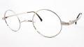 【オリジナル老眼鏡】 生粋(きっすい) TK-701 カラー:シルバー 丸型のクラシカルで個性的なメガネフレーム ブルーライトカットレンズ仕様  【送料無料】