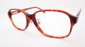 【オリジナル老眼鏡】 ADVANCE(アドバンス) No.8010  ブラウン バネ丁番採用のプラスチックフレーム ブルーライトカットレンズ仕様  【送料無料】