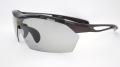 【ellesse】エレッセ ES-S104 ブラック×グレー 交換可能な5枚のレンズ付きサングラス インナーフレーム付属で度付き対応