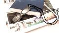 メガネ型のペンダントルーペ LP01 ブラック 倍率1.5倍