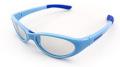【SWANS】 スワンズ 子供用サングラス KG1-0003 スカイブルー/ライトスモーク お子様の目を紫外線から守りましょう