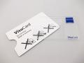 【メール便可】 ZEISS ツァイス Visu Card ビズカード 厚さ僅か0.8mm クレジットカードサイズの便利なルーペ