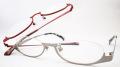 【オリジナル老眼鏡】 VIVACE (ビバーチェ) VV-8004 ステンレス製、軽量でしなやか、個性的なナイロールタイプのメガネフレーム カラーは2色 【送料無料】
