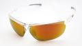 【SUN CLOUD】サンクラウド偏光サングラス 『ZEPHYR(ゼファー)』 フレームカラー:クリスタル レンズカラー:レッドミラー フィット感抜群のスポーツスタイルサングラス