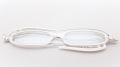 イタリア生まれの超コンパクト折りたたみ老眼鏡 『zic(ジック)』 G065-05 ホワイト