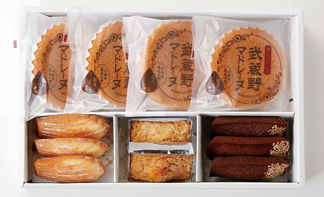 武蔵野茶房 焼菓子詰め合わせE(12個入)