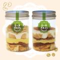 [set ケーキパルフェ] 白花豆のモンブラン&キャラメルモカ