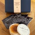 武蔵野茶房オリジナルブレンドドリップ珈琲&特製焼チーズケーキ【わっぱ入】set