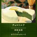 武蔵野茶房 チョコトルテ〈西尾抹茶×ホワイトチョコレート〉