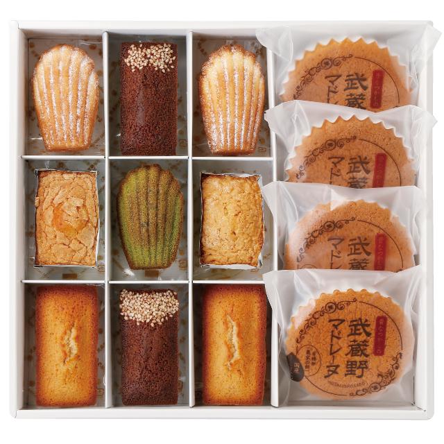 武蔵野茶房 焼菓子詰め合わせF(22個入)