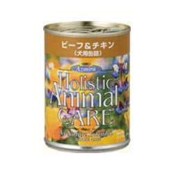 アズミラ/DOG/ビーフ&チキン缶 /374g