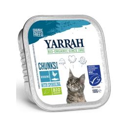 ヤラー チキン魚のキャットチャンク