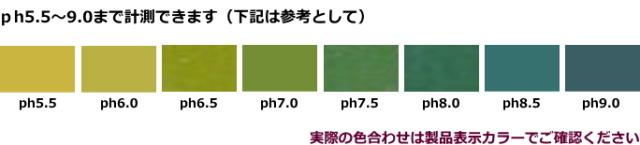 リール型pH試験紙/カラーチャート