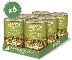 リリーズキッチン/【DOG】健康的な野菜のご馳走・ドッグ375g×6個入り(個別日本語ラベルなし)