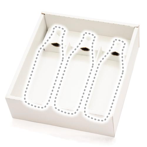 アソート3本箱