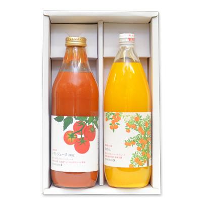 トマト&みかん大瓶