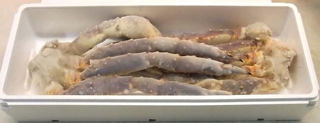ジャンボ生タラバ蟹