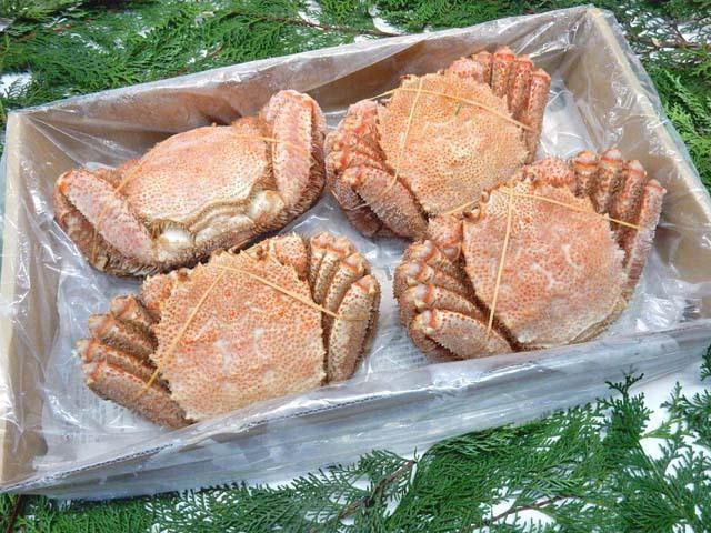 冷凍ボイル毛蟹