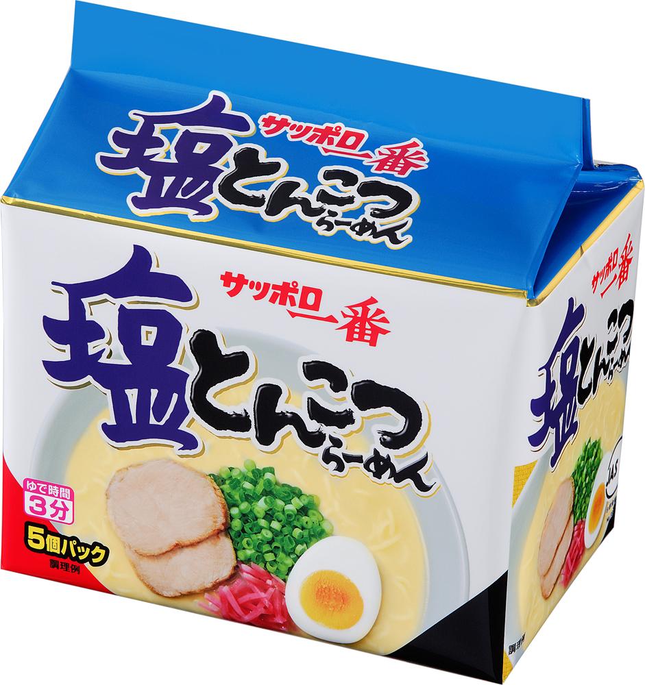 サッポロ一番 塩とんこつらーめん (5個×6パック入り)