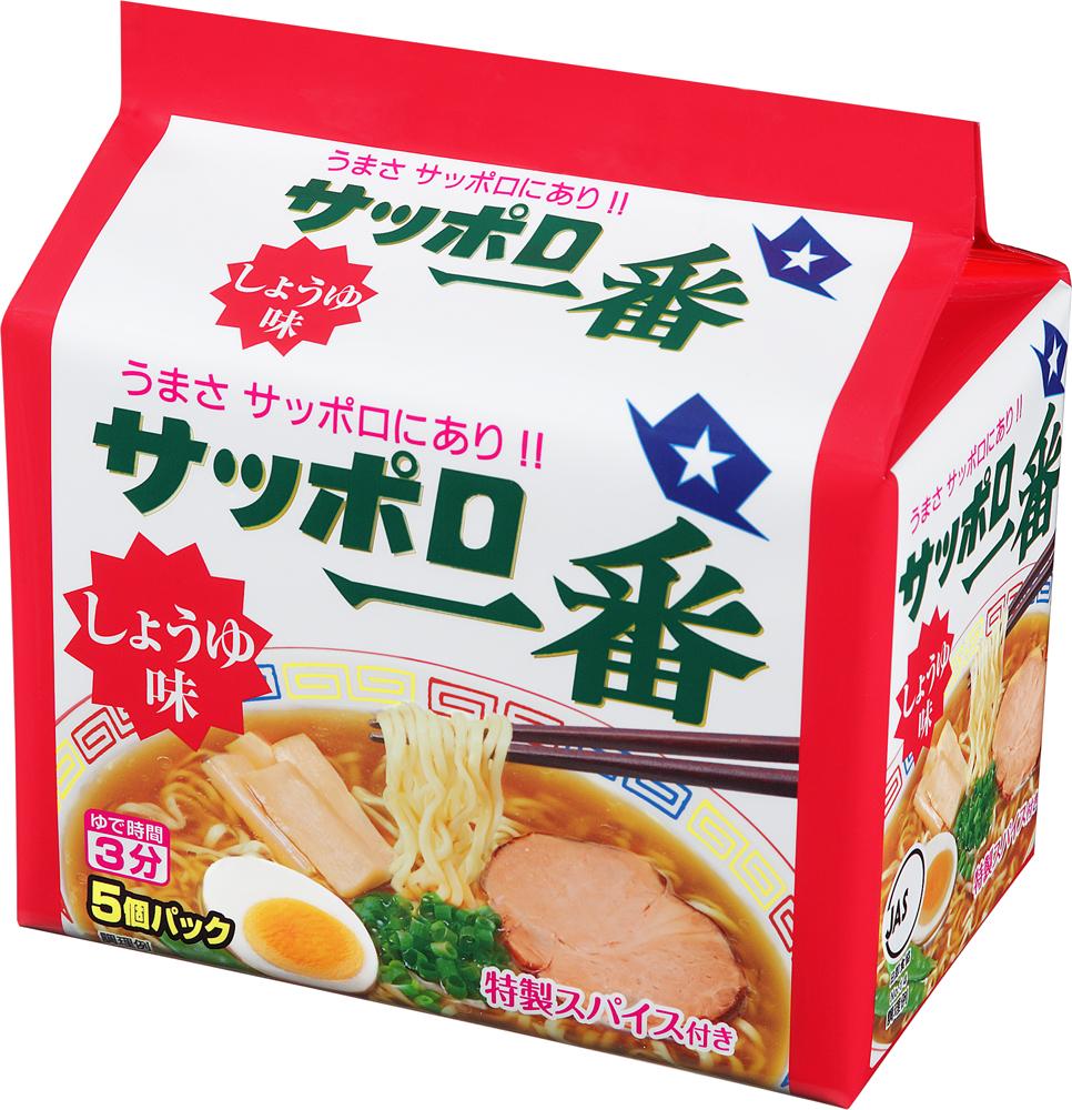 サッポロ一番 しょうゆ味 (5個パックX6入り)