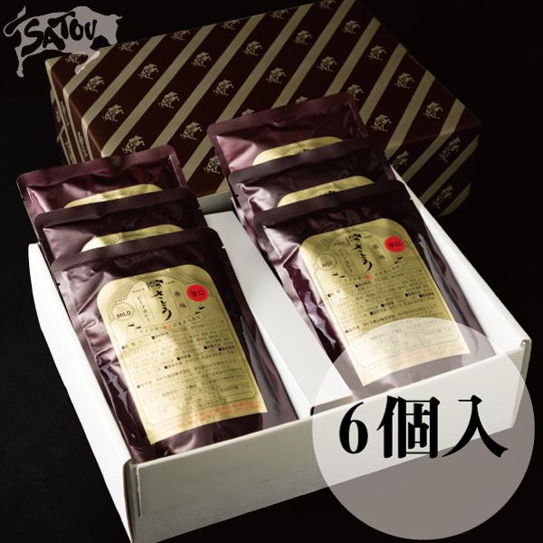 築地さとうビーフカレー/6個入(E-1)