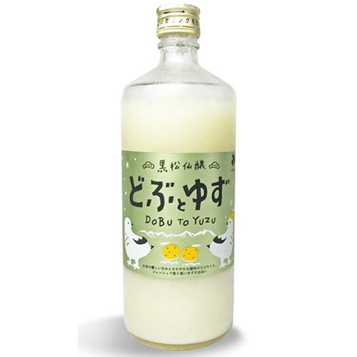 黒松仙醸 どぶとゆず 600ml
