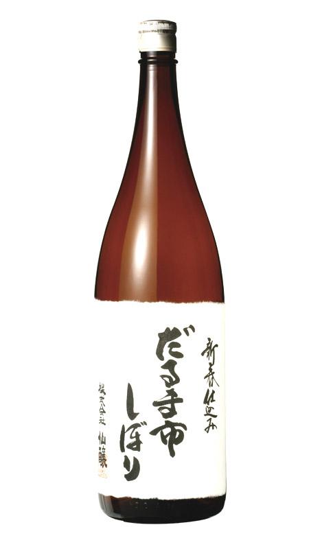 黒松仙醸 純米だるま市しぼり 1.8L