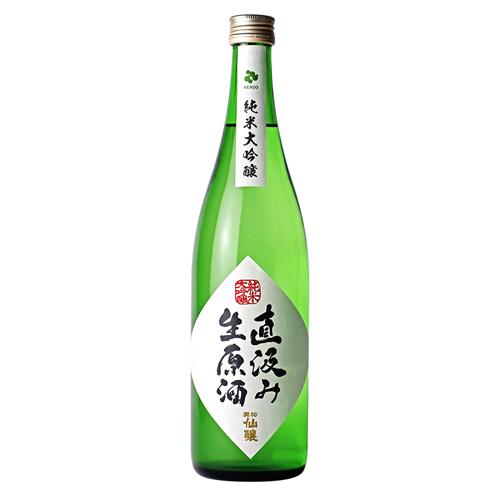 新酒:黒松仙醸 純米大吟醸 直汲み生原酒 720ml(純大吟)【日本酒】